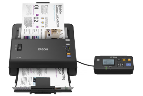 Newsflash: Epson WorkForce scanner gets top rating
